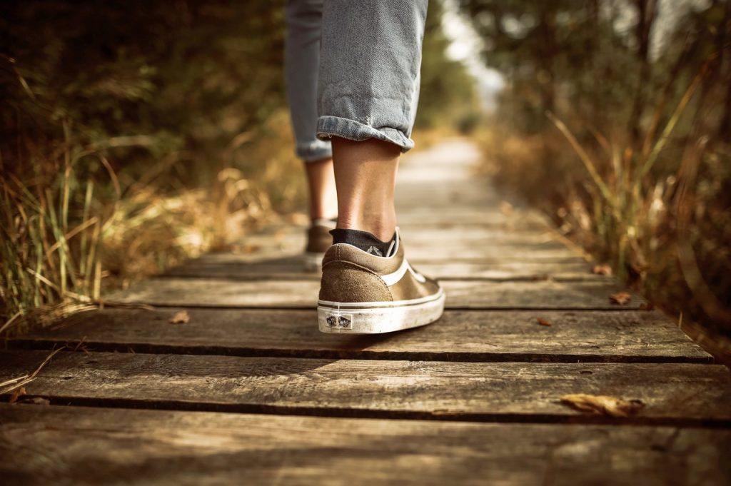 Cómo adelgazar caminando 1